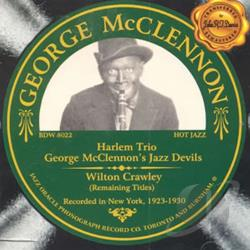 McClennon, George - George McClennon/Wilton Crawley CD Cover Art