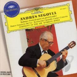 Jorda / Rodrigo / Segovia / Symphony Of The Air - Rodrigo, Ponce, Boccherini: Guitar Concertos CD Cover Art