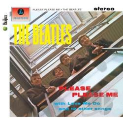 Beatles - Please Please Me CD Cover Art