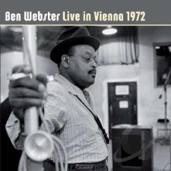 Webster, Ben - Live In Vienna 1972 CD Cover Art