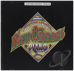 Professor Longhair - New Orleans Piano CD Cover Art