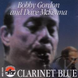 Gordon, Bobby - Clarinet Blue CD Cover Art