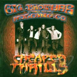 Big Brother & The Holding Company - Cheaper Thrills CD Cover Art
