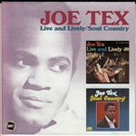 Tex, Joe - Live & Lively / Soul Country: Dial Records Serie 3 CD Cover Art