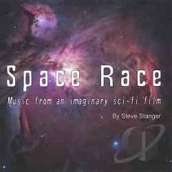 Stanger, Steve - Space Race-Music From An Imaginary Sci-Fi Film CD Cover Art