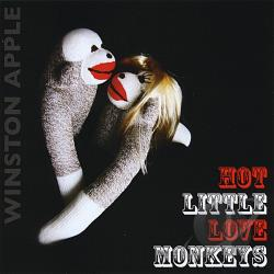 Winston Apple - Hot Little Love Monkeys / Masters Of Terror CD Cover Art