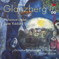 Orchestre Symphoniqu - Norbert Glanzberg: Holocaust Lieder; Suite Yiddish CD Cover Art