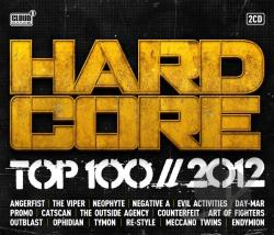 Hardcore Top 100 - 2012 CD Cover Art
