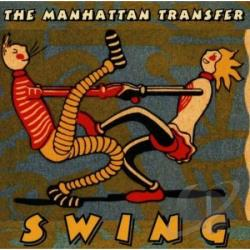 Manhattan Transfer - Swing CD Cover Art