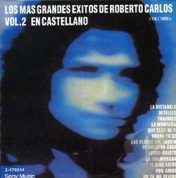 Carlos, Roberto - Grandes Exitos en Castellano CD Cover Art