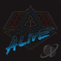 Daft Punk - Alive 2007 CD Cover Art