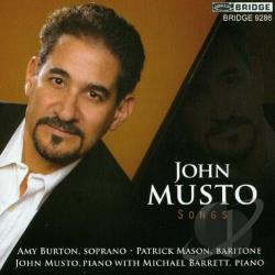 Barrett / Burton / Mason / Musto, John - John Musto: Songs CD Cover Art