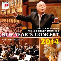 Barenboim, Daniel - New Year's Concert 2014 CD Cover Art