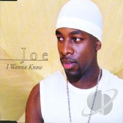 Joe - I Wanna Know CD Cover Art