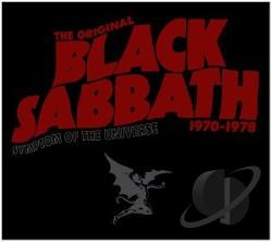 Black Sabbath - Symptom of the Universe: The Original Black Sabbath (1970-1978) CD Cover Art