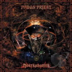Judas Priest - Nostradamus CD Cover Art