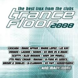 Trance Floor 2008 - Trance Floor 2008 CD Cover Art
