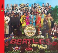 Beatles - Sgt. Pepper's Lonely Hearts Club Band CD Cover Art