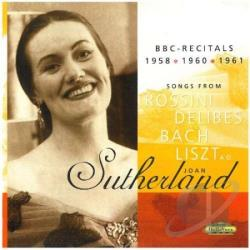 Sutherland, Joan - Recital CD Cover Art