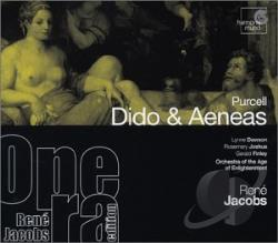 Dawson, Lynne - Ren� Jacobs Opera Edition - Purcell: Dido & Aeneas / Jacobs CD Cover Art