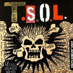 T.S.O.L. - Who's Screwin' Who?: 18 T.S.O.L. Greatest Non-Hits CD Cover Art
