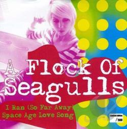 Flock Of Seagulls - I Ran (So Far Away) LP Cover Art