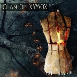 Clan Of Xymox - Matters of Mind, Body and Soul CD Cover Art