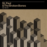 St. Paul and the Broken Bones - Half the City CD Cover Art