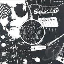 Modern Art - All Aboard The Mind Train CD Cover Art