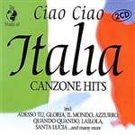 World of Ciao Ciao Italia Canzone Hits CD Cover Art