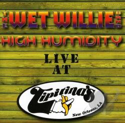 Wet Willie - High Humidity CD Cover Art