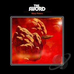 Sword - Warp Riders CD Cover Art