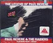 Revere, Paul & The Raiders - Legend Of Paul Revere CD Cover Art