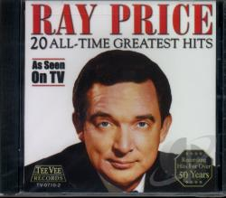 Price, Ray - 20 All-Time Greatest Hits CD Cover Art