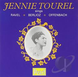 Tourel, Jennie - Jennie Tourel sings Ravel, Berlioz, Offenbach CD Cover Art