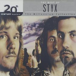 Styx - 20th Century Masters - The Millennium Collection: The Best of Styx CD Cover Art