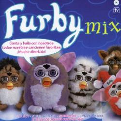 Furby Mix CD Cover Art