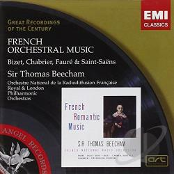 Beecham / Bizet / Lpo / Rpo - French Orchestral Music CD Cover Art