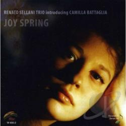 Battaglia, Camilla / Renato Sellani Trio - Joy Spring CD Cover Art