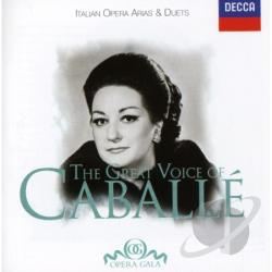 Caballe, Montserrat - Great Voice of Caball� CD Cover Art