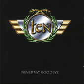 10 - Never Say Goodbye (+ B CD Cover Art