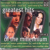 Greatest Hits Millennium 70's V.3 CD Cover Art