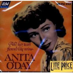 O'Day, Anita - And Her Tears Flowed Like Wine CD Cover Art