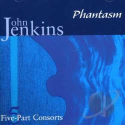 Dreyfus: vla gmb / Phantasm - John Jenkins: Five-Part Consorts CD Cover Art