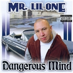 Mr. Lil' One - Dangerous Mind CD Cover Art