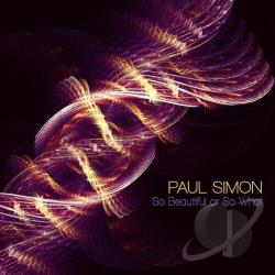 Simon, Paul - So Beautiful or So What CD Cover Art