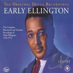 Ellington, Duke - Early Ellington: The Complete Brunswick and Vocalion Recordings of Duke Ellington, 1926-1931 CD Cover Art