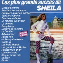 Sheila - Les Plus Grands Susses CD Cover Art