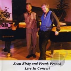 Frank French & Scott Kirby - Live in Concert CD Cover Art