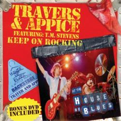 Appice, Carmine / Travers & Appice / Travers, Pat - Keep on Rocking CD Cover Art